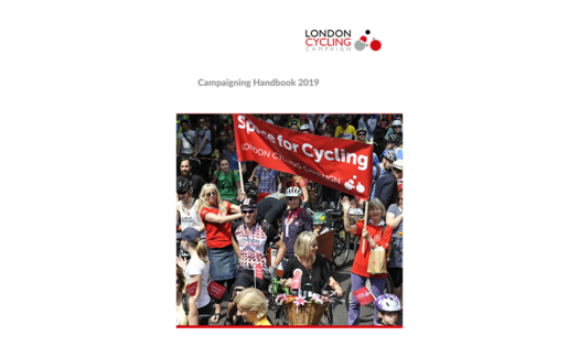 Cover of the 2019 LCC Campaigning Handbook