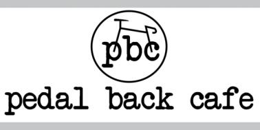 Pedal Back Cafe logo