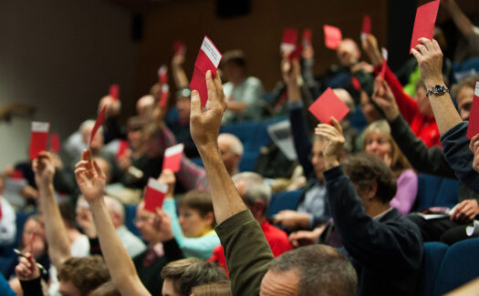 Voting at the AGM