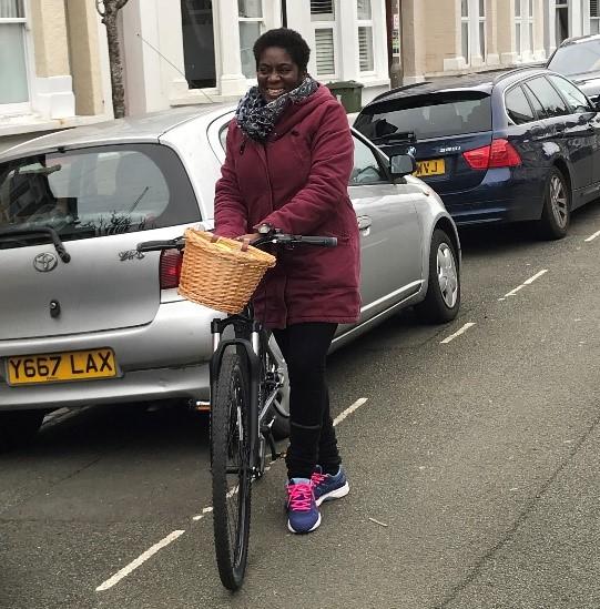 Carol, NHS nurse & cycle buddy