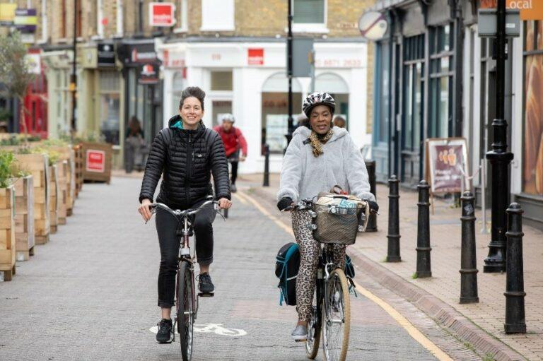 Triah and Jo, Cycle Buddies