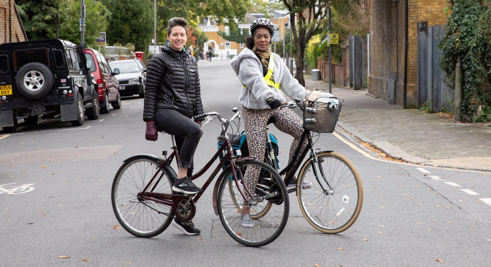 Cycle Buddies Trish & Jo